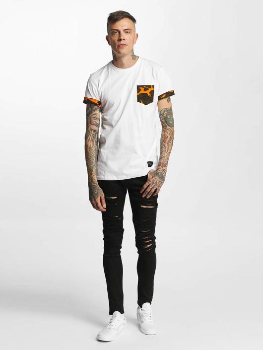 Criminal Damage T-shirt Dazzle bianco