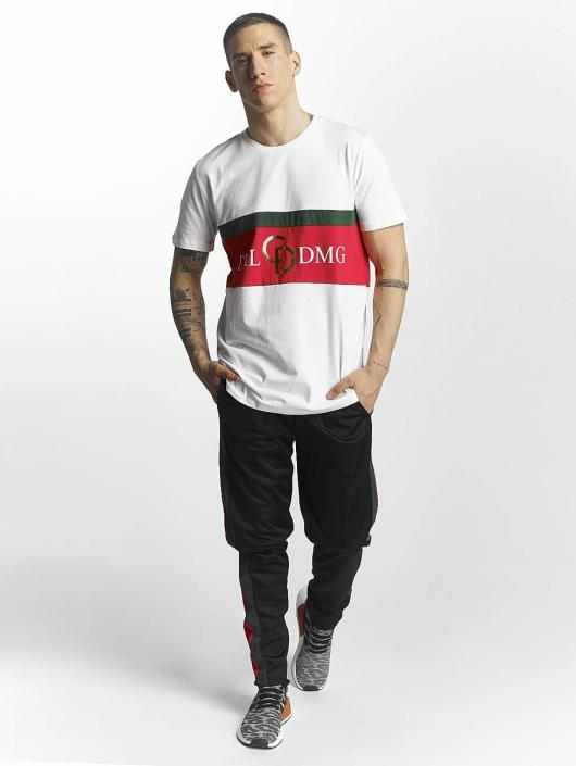 Criminal Damage T-Shirt Dolfo Logo blanc