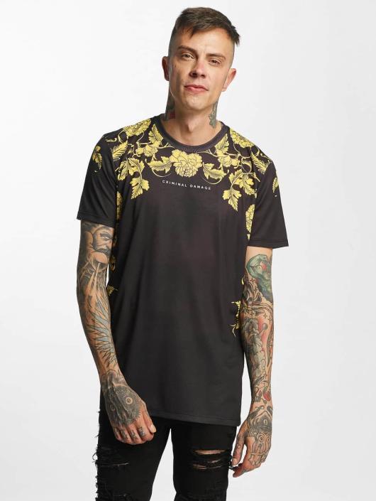 Shirt Criminal Noir Homme DamageGiovanni T 397783 mN8nv0w