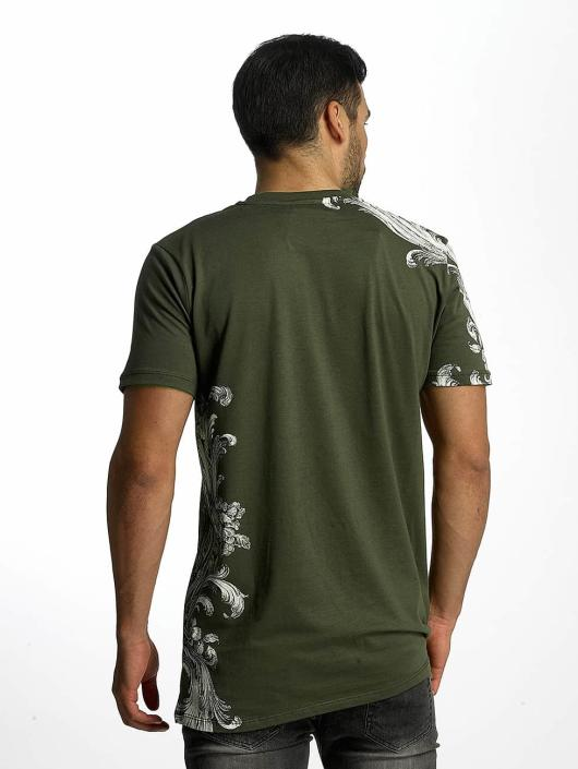 Criminal Damage T-Shirt Paulo olive