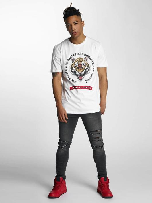 Criminal Damage T-Shirt Battle white