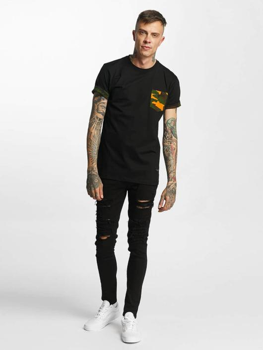 Criminal Damage T-Shirty Dazzle czarny