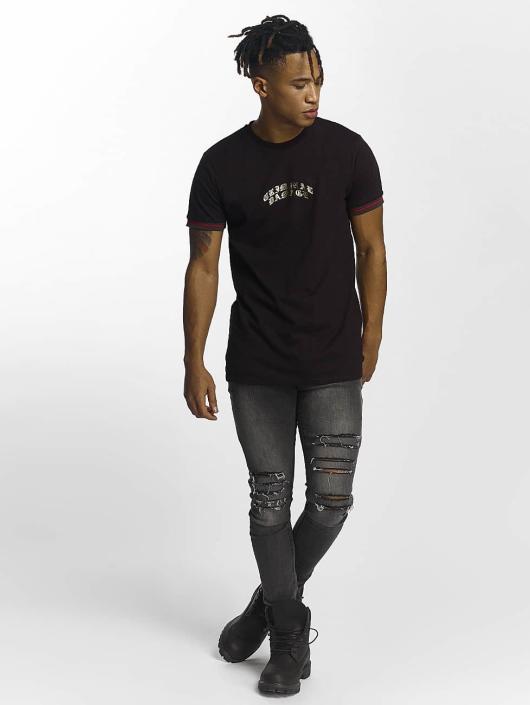 Criminal Damage T-Shirty Cucci czarny