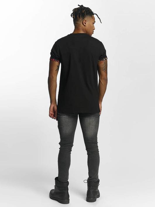 Criminal Damage T-Shirty Flame czarny