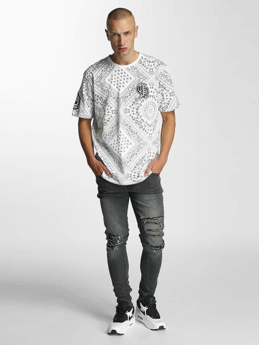 Criminal Damage T-skjorter Side hvit