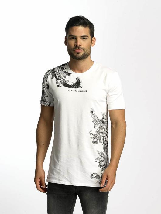 Criminal Damage T-skjorter Paulo hvit