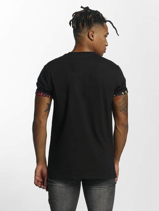 Criminal Damage T-skjorter Flame svart