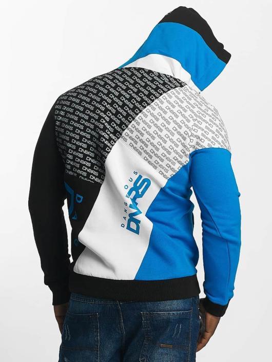 Dangerous DNGRS Bluzy z kapturem Logo niebieski