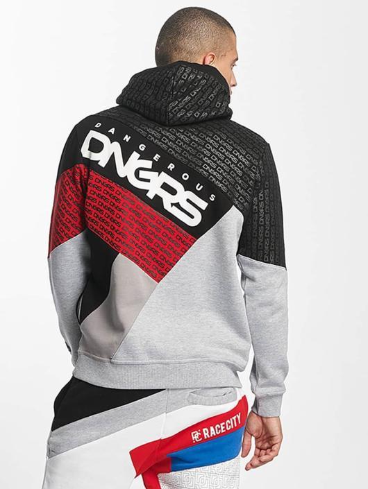 Dangerous DNGRS Bluzy z kapturem TOWER szary