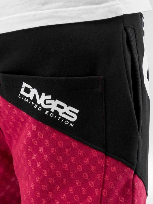 Dangerous DNGRS joggingbroek Toco rood