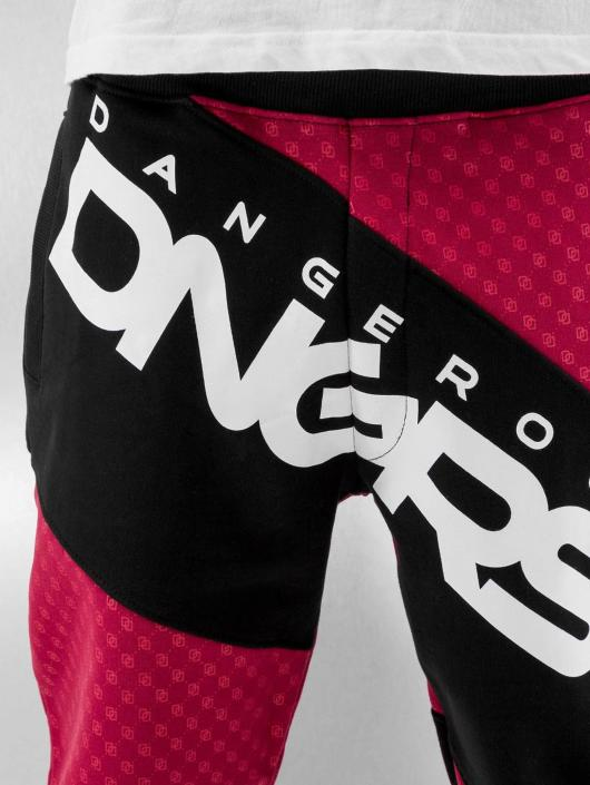 Dangerous DNGRS Joggingbyxor Toco röd