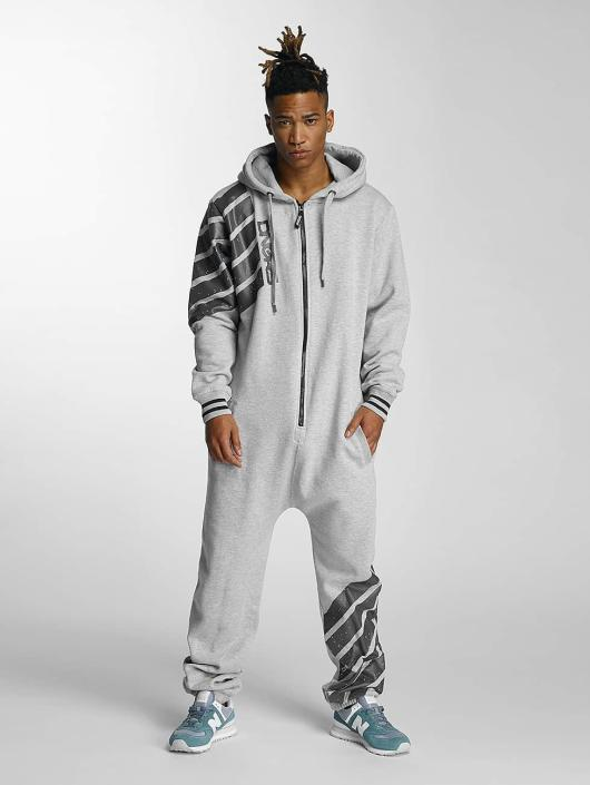 Dangerous DNGRS Jumpsuits Statement gray