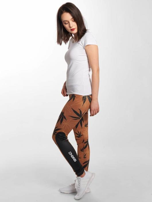 Dangerous DNGRS Leggings/Treggings Weedo brun