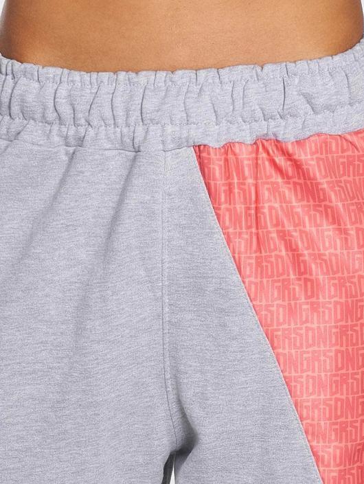 Dangerous DNGRS Pantalone ginnico Tackle grigio