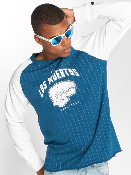 Dangerous DNGRS Pullover LosMuertos blue