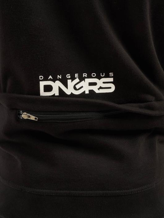 Dangerous DNGRS Sweat capuche zippé Halil noir