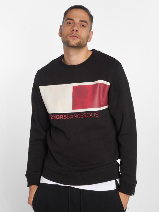 Dangerous DNGRS Swetry TwoFace czarny