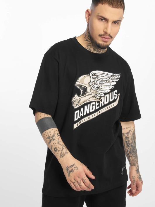 Dangerous DNGRS T-Shirt DNGRS Romain black