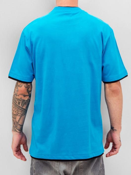 Dangerous DNGRS T-Shirt Two Tone Regular bleu