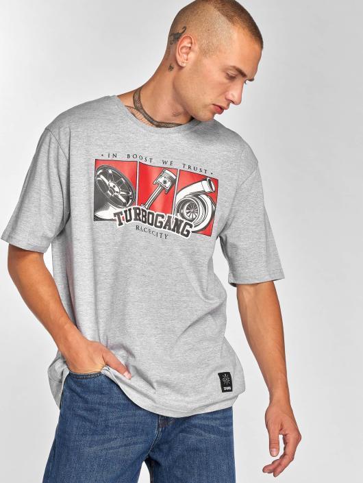 Dangerous DNGRS T-Shirt Race City IBWT grau
