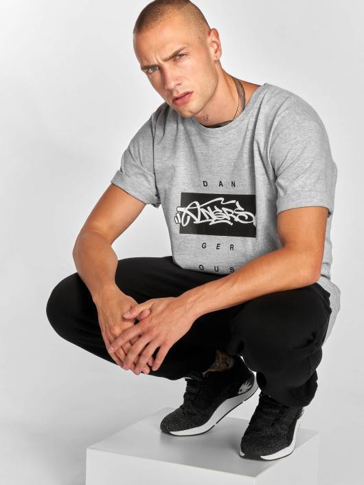 Dangerous DNGRS T-Shirt Topping grau