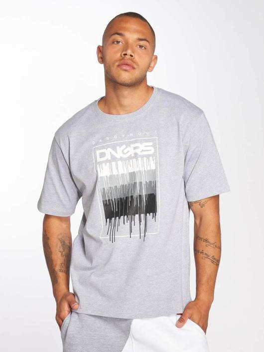 Dangerous DNGRS T-Shirt DripCity grau