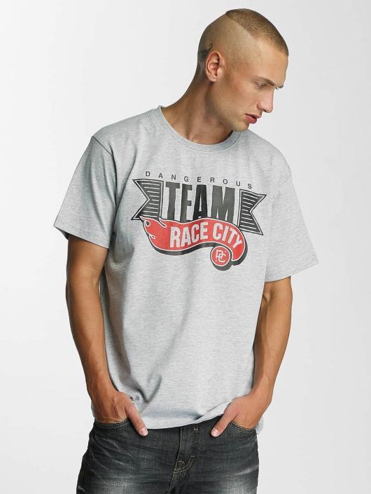 Dangerous DNGRS T-Shirt Race City gray