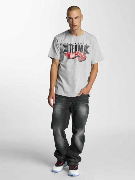 Dangerous DNGRS T-Shirt Race City gris