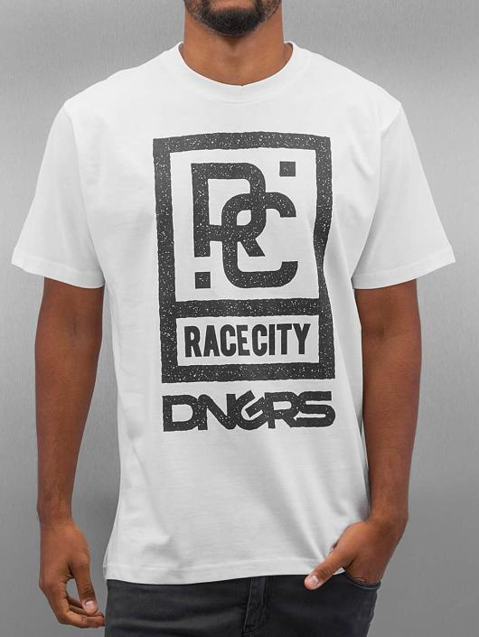 Dangerous DNGRS T-Shirt Race City white