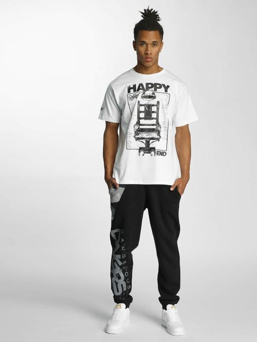 Dangerous DNGRS T-Shirty Happyend bialy