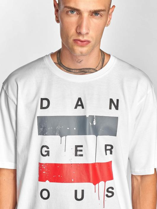 Dangerous DNGRS T-Shirty Uncaged bialy