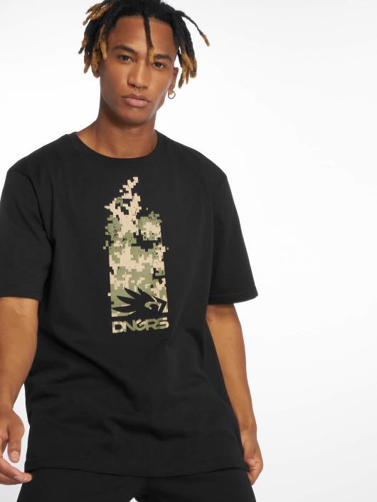 Dangerous DNGRS T-Shirty Pix czarny