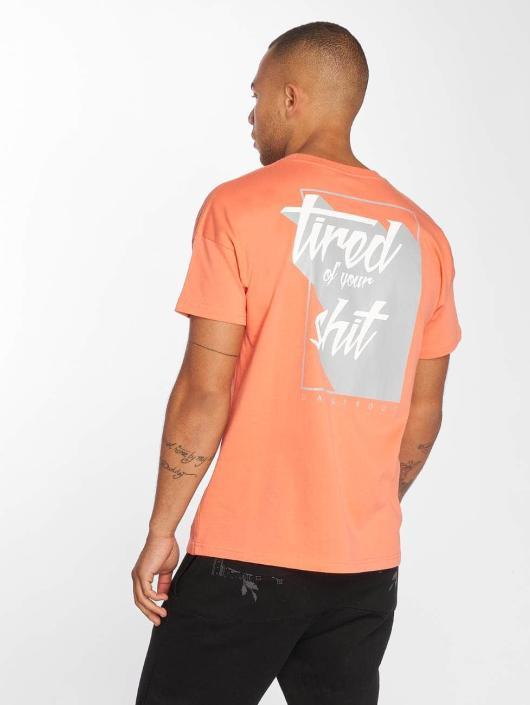 Dangerous DNGRS T-skjorter Tired oransje
