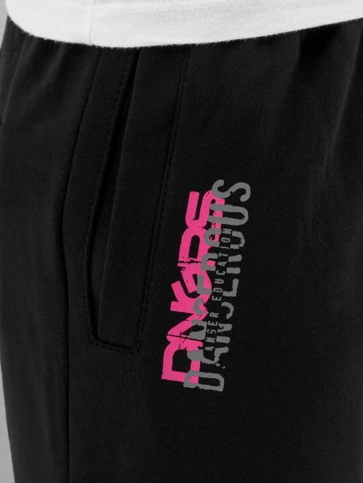 Dangerous DNGRS Verryttelyhousut Logo musta
