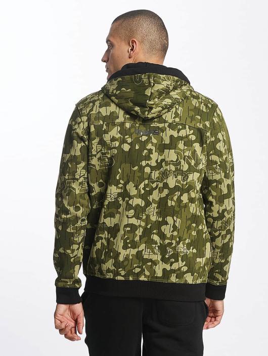 Dangerous DNGRS Zip Hoodie Classic camouflage