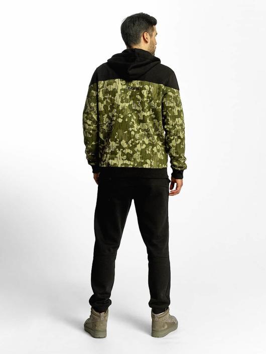 Dangerous DNGRS Zip Hoodie Two Tone camouflage