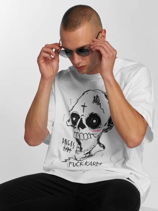 Dangerous I AM T-Shirt Akashita blanc
