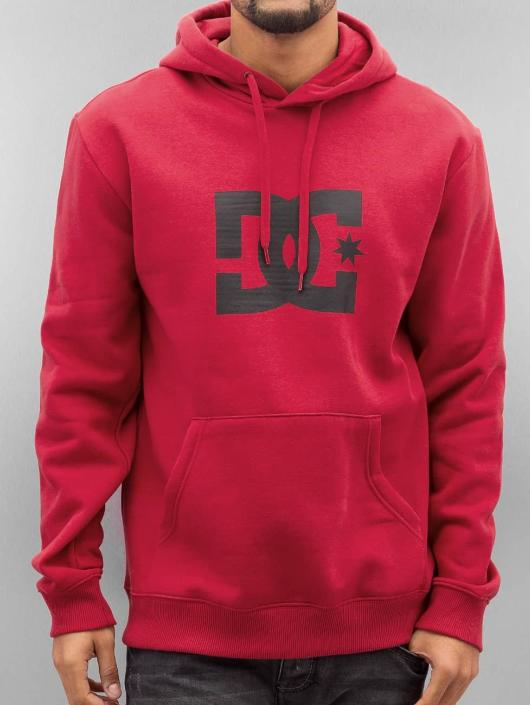 DC Hoodie Star red