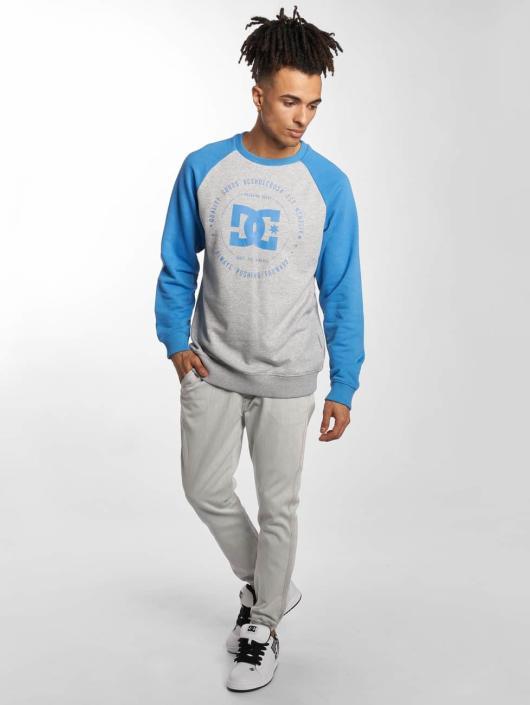 DC Pullover Rebuilt Raglan blau