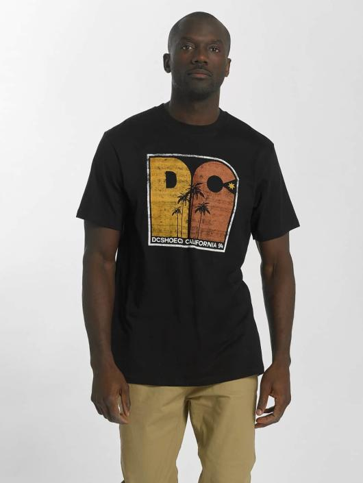 DC T-Shirt Sunset Palms schwarz