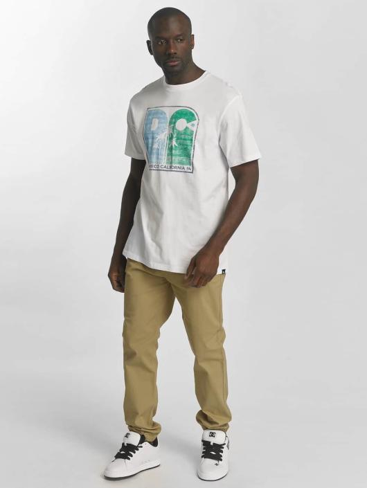 DC T-Shirt Sunset Palms weiß