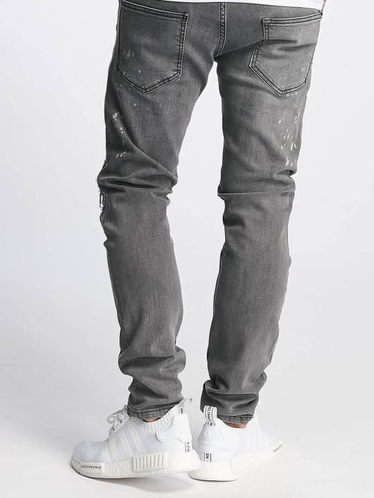 De Ferro Slim Fit Jeans Brady grau