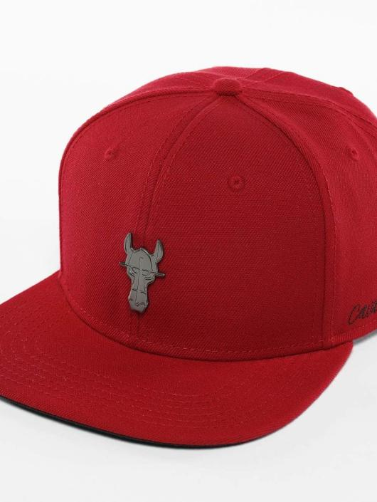 De Ferro Snapback Cap Fire red