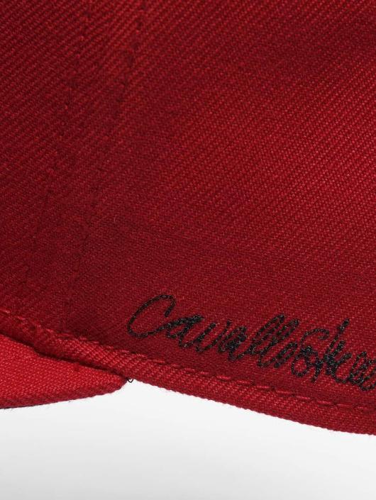 De Ferro Snapback Caps Fire czerwony