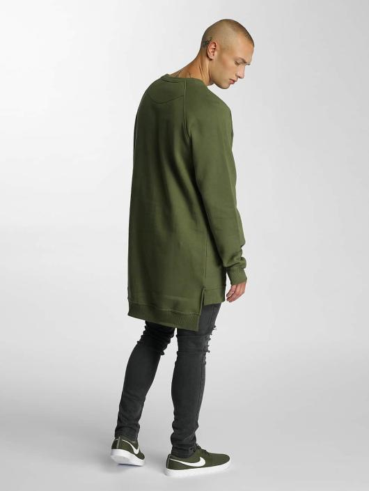 De Ferro Swetry Agra oliwkowy