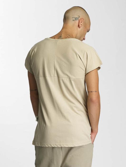 De Ferro Logo T Shirt Beige