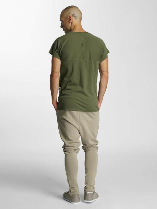 De Ferro Logo T Shirt Olive