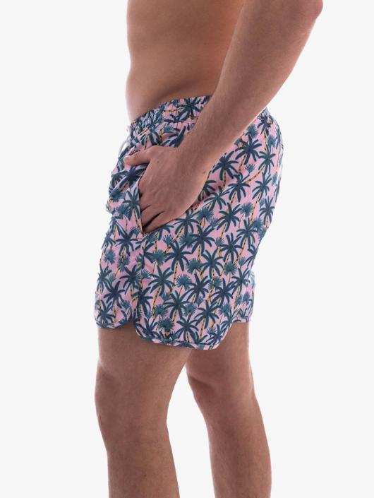 DEDICATED Kúpacie šortky Swim Shorts pink