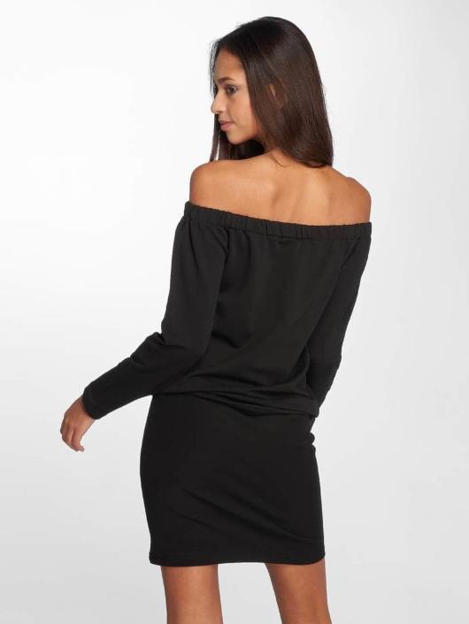 DEF Šaty Luxa èierna