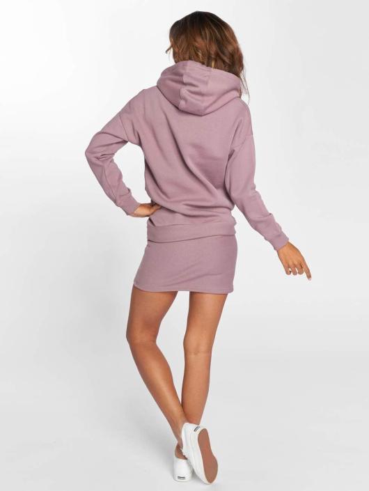 DEF Šaty Cropped fialový